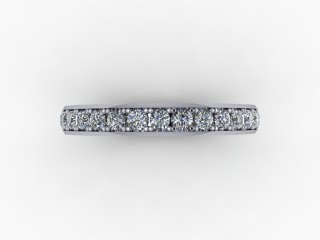 0.62cts. Full 18ct White Gold Eternity Ring