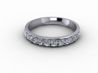 1.12cts. Full 18ct White Gold Eternity Ring-88-05724
