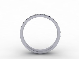 1.12cts. Full 18ct White Gold Eternity Ring - 3