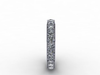 1.12cts. Full 18ct White Gold Eternity Ring - 6