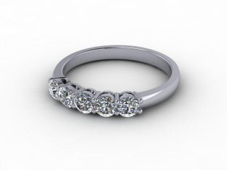 All Diamond 0.50cts. in 18ct. White Gold-88-05932