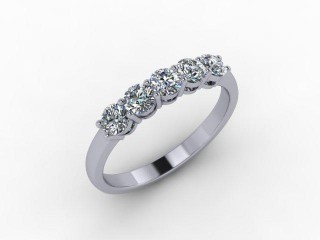 All Diamond 0.50cts. in 18ct. White Gold