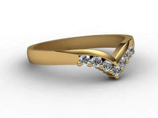 Half-Set Diamond Eternity Ring 0.25cts. in 18ct. Yellow Gold