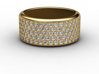 Full Diamond Eternity Ring 1.20cts. in 18ct. Yellow Gold-88-18031