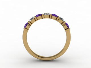 Amethyst and Diamond 0.60cts. in 18ct. Yellow Gold