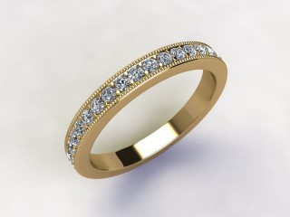 Full Diamond Eternity Ring 0.65cts. in 18ct. Yellow Gold