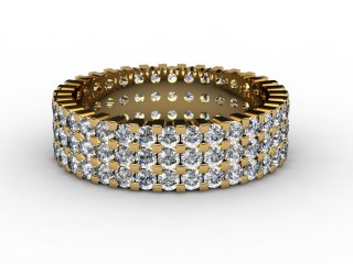 Full Diamond Eternity Ring 1.87cts. in 18ct. Yellow Gold-88-18061