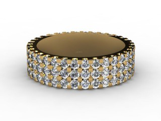 Full Diamond Eternity Ring 1.87cts. in 18ct. Yellow Gold-88-18066