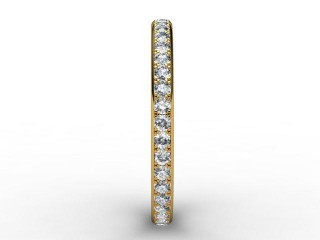 Full Diamond Eternity Ring 0.40cts. in 18ct. Yellow Gold