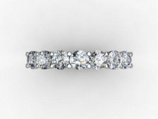 Half-Set Diamond Eternity Ring 1.02cts. in 18ct. Yellow & White Gold