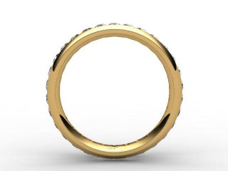 Full Diamond Eternity Ring 0.89cts. in 18ct. Yellow Gold