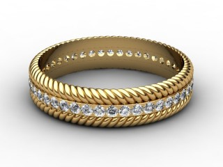 Full Diamond Eternity Ring 0.44cts. in 18ct. Yellow Gold-88-18111