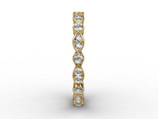 Full Diamond Eternity Ring 0.56cts. in 18ct. Yellow Gold