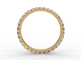 Full Diamond Eternity Ring 0.72cts. in 18ct. Yellow Gold