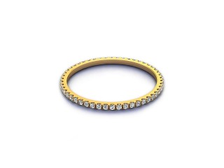Full Diamond Eternity Ring 0.20cts. in 18ct. Yellow Gold-88-18521
