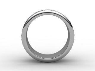 Full Diamond Eternity Ring 1.20cts. in Palladium