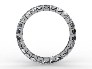 Full Diamond Eternity Ring 3.00cts. in Palladium - 3