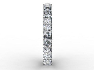 Full Diamond Eternity Ring 3.00cts. in Palladium - 6