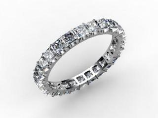 Full Diamond Eternity Ring 3.00cts. in Palladium