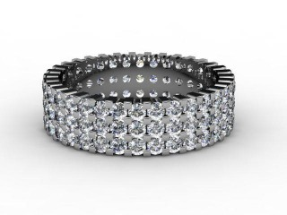 Full Diamond Eternity Ring 1.87cts. in Palladium-88-66061