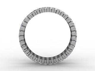 Full Diamond Eternity Ring 1.87cts. in Palladium