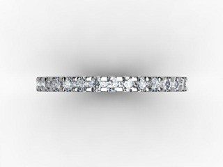 Full Diamond Eternity Ring 0.82cts. in Palladium - 9