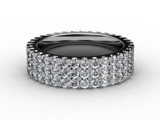 Full Diamond Eternity Ring 1.87cts. in Palladium-88-66066