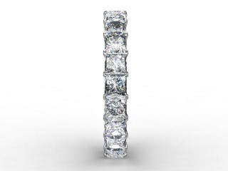Full Diamond Eternity Ring 3.75cts. in Palladium - 6