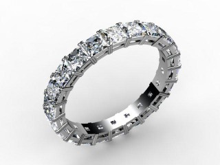 Full Diamond Eternity Ring 3.75cts. in Palladium - 12