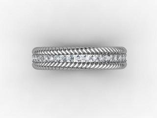 Full Diamond Eternity Ring 0.44cts. in Palladium