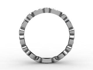 Full Diamond Eternity Ring 0.56cts. in Palladium