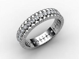 Full Diamond Eternity Ring 0.34cts. in Palladium