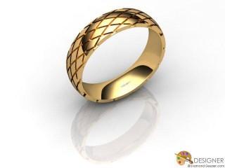 Men's Designer 18ct. Yellow Gold Court Wedding Ring-D10926-1801-000G