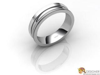 Men's Designer Palladium Court Wedding Ring-D10928-6601-000G