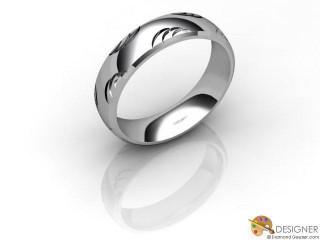 Men's Designer Palladium Court Wedding Ring-D10929-6601-000G