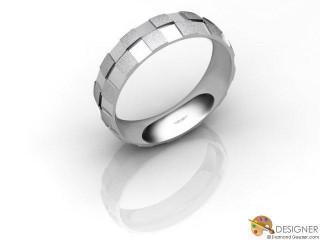 Men's Designer Palladium Court Wedding Ring-D10936-6603-000G