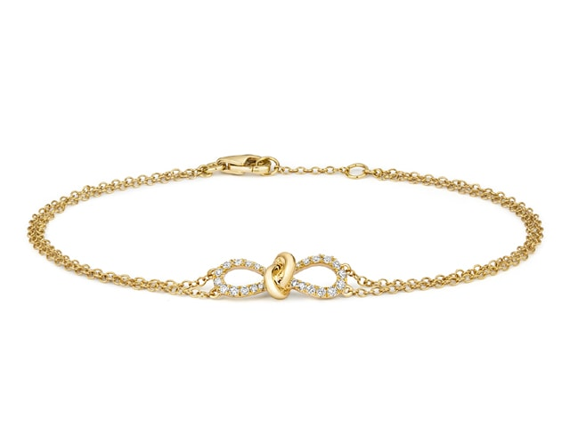 18ct. Yellow Gold Diamonds by the Inch bracelet