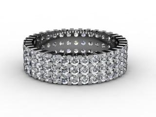 All Diamond Wedding Ring 1.87cts. in Platinum-W88-01061