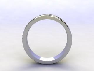 All Diamond 0.20cts. in Platinum