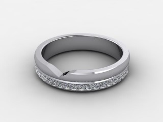All Diamond 0.23cts. in Platinum-W88-012509