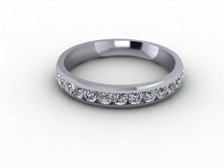 1.12cts. Full Platinum Wedding Ring Ring-W88-01722