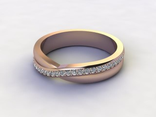 All Diamond 0.20cts. in 18ct. Rose Gold-W88-042505
