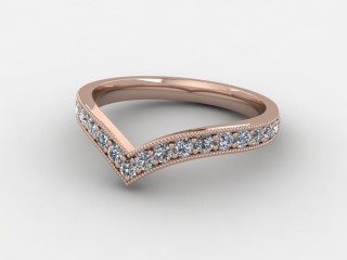 All Diamond 0.38cts. in 18ct. Rose Gold-W88-042508