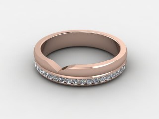 All Diamond 0.24cts. in 18ct. Rose Gold-w88-042510