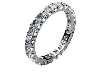 All Diamond Wedding Ring 3.00cts. in 18ct. White Gold-W88-05049