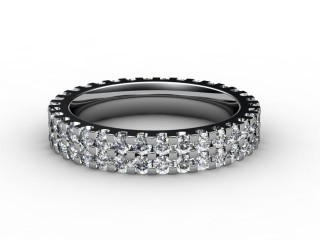 All Diamond Wedding Ring 2.16cts. in 18ct. White Gold-W88-05065