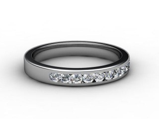 All Diamond Wedding Ring 0.33cts. in Palladium-W88-66087