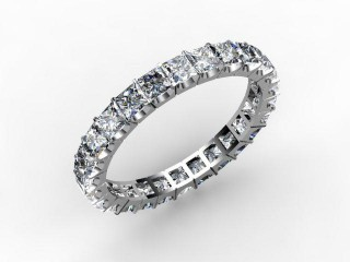 All Diamond Wedding Ring 3.00cts. in Platinum
