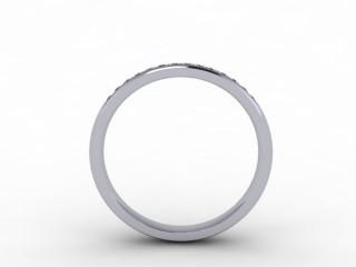 0.16cts. 1/3 Platinum Wedding Ring Ring