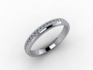 0.26cts. 1/2 Platinum Wedding Ring